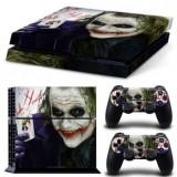 Skin / Sticker joker Playstation 4 PS4  FAT / SLIM + 2 Skin controller PS4, Huse si skin-uri