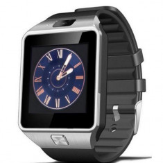 Ceas Smartwatch iUni DZ09 Plus, BT, Camera 1.3MP, 1.54 Inch, Argintiu