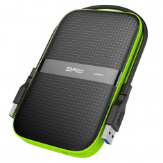 Hard disk extern Silicon-Power Armor A60 500GB 2.5 inch USB 3.0 Black - HDD extern Silicon Power, 500-999 GB
