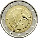 NOU - Finlanda moneda 2 euro 2017 - Natura finlandeza - UNC, Europa