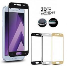 Folie sticla Samsung Galaxy A3 A5 A7 J3 J5 J7 2017 securizata full 3D acopera - Folie de protectie