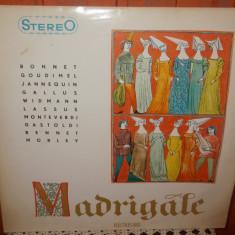 -Y-  CORUL MADRIGAL - MADRIGALE
