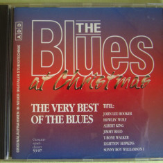 THE BLUES AT CHRISTMAS - The Very Best Of The Blues - C D Original ca NOU, CD