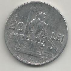 ROMANIA 20 LEI 1951 [10] livrare in cartonas - Moneda Romania, Aluminiu