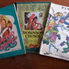 Robinson Crusoe + Sindbad + Pinocchio / C00P - Carte de povesti