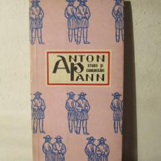 ANTON PANN-STUDII SI COMUNICARI - Studiu literar