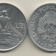 ROMANIA 20 LEI 1951 [1] a UNC - UNC, livrare in cartonas - Moneda Romania, Aluminiu