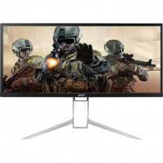 Monitor LED Gaming Acer BX340C 34 inch 6ms Black Silver, Mai mare de 27 inch, HDMI, 2560 x 1080