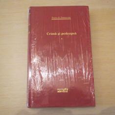 CRIMA SI PEDEAPSA FIODOR M.DOSTOIEVSKI BIBLIOTECA ADEVARUL VOL 1 - Roman