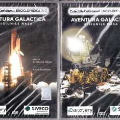 Aventura Galactica - Misiunile NASA - Film documentare discovery channel, DVD, Romana