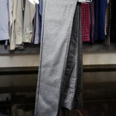 Pantaloni barbati, Culoare Gri, Slim Fit, Ucu Dima, Cod: Pantaloni B. 1028 Gri (Culoare: Gri, Marime Pantaloni: 46)