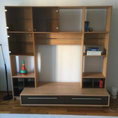 Mobila/biblioteca moderna pentru living - Biblioteca living