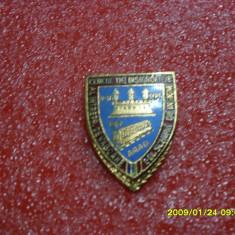 Insigna I-ul schimb de insigne Arad 1989 - Insigna fotbal