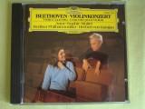 BEETHOVEN - Violin Concerto Anne-Sophie Mutter - C D Original ca NOU, CD