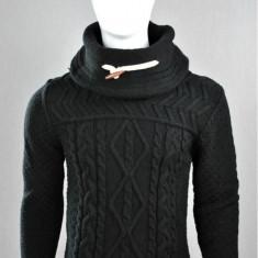 Pulover barbati, black, Cod : 7025 black (Culoare: Negru, Marime Vestimentatie: L)