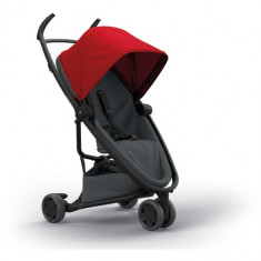 Carucior Zapp Flex Red on Graphite - Carucior copii 2 in 1 Quinny