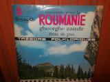 -Y-  GHEORGHE ZAMFIR - RECONTRE AVEC LA ROMANIE - FLUTE DE PANN --DISC VINIL