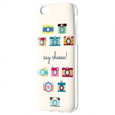 Husa APPLE iPhone 5\5S\SE - Art (Say Cheese)