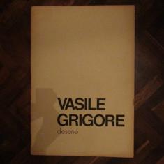 VASILE GRIGORE - DESENE - ATELIER - 12 REPRODUCERI, 1982