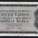 Boemia Bohemia Moravia 50 Korun 1940