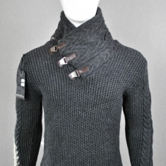 Pulover barbati,gri, Cod: 4200 Gri (Culoare: Gri, Marime Vestimentatie: L)