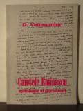 CAIETELE EMINESCU.MITOLOGIE SI DOCUMENT-D.VATAMANIUC