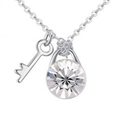 Colier Key of Happiness - Colier Swarovski