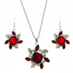 Bijuterii nunta cu floricele - Set bijuterii handmade si fashion