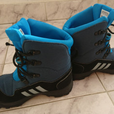 Ghete Adidas marime 35 - Ghete copii Adidas, Culoare: Albastru