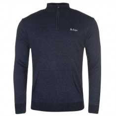 Bluza Pulover Barbati Lee Cooper QZ original - marimea XL, Indigo