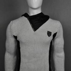 Pulover barbati,ecru-gray, Cod: 5136 ecru-gray (Culoare: Gri, Marime Vestimentatie: XL)