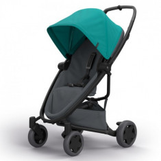 Carucior Zapp Flex Plus Green on Graphite - Carucior copii 2 in 1 Quinny