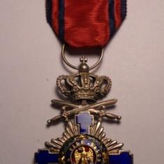 Ordinul Steaua Romaniei Cavaler Militar pe timp de pace Primul Model Frumoasa