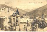 CP Z447 -  SINAIA -MANASTIREA SPRE VALEA REA - CIRCULATA 25 APRILIE 1925
