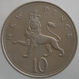 MAREA BRITANIE KM#912 - 10 Pence 1969