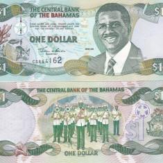 Bahamas 1 Dollars 2001 UNC - bancnota america