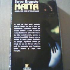 Serge Brussolo - HAITA / Omul, cea mai apriga fiara { Nemira, 1996 } - Carte Horror
