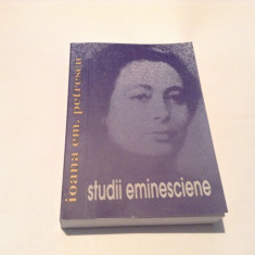 IOANA EM PETRESCU STUDII EMINESCIENE, RF1 - Studiu literar