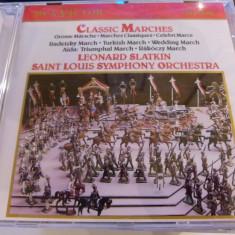 Classic marches - leonard Slatkin - cd - Muzica Clasica rca records