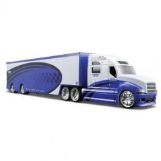 Camion Pro Rodz 1:64 Albastru cu Alb - Masinuta Maisto
