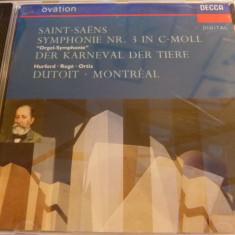 Saint -saens -sy.3 - dutoit -cd - Muzica Clasica decca classics