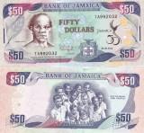 Jamaica 50 Dollars 06.08.2012 Comemorativa UNC