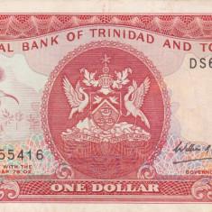 TRINIDAD & TOBAGO 1 dollar ND VF!!! - bancnota america