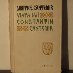 VIATA LUI CONSTANTIN CANTEMIR-DIMITRIE CANTEMIR - Biografie
