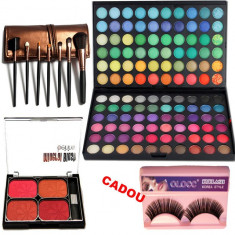 Set machiaj Happiness + Cadou Gene false - Trusa make up