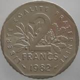 FRANTA KM#942.1 - 2 Francs 1982, Europa