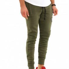 Pantaloni barbati de trening kaki - vatuiti - COLECTIE NOUA - 9599, Marime: M, L, XL, XXL, Culoare: Din imagine