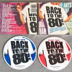 Back To The 80s 2CD (Wham, A-Ha, Duran Duran, Bangles, Human League, Paul Young) - Muzica Pop sony music
