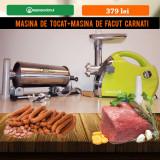 Masina de tocat carne si masina de facut carnati 3 kg, Nobrand
