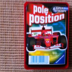 Pole position formula 1 automobile auto cartonase carti joc trumpf gemany hobby - Cartonas de colectie